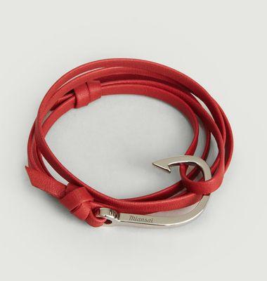 Leather Hook Bracelet