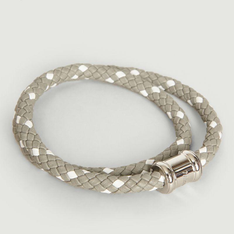 Bracelet Cuir Bicolore Casing - Miansai