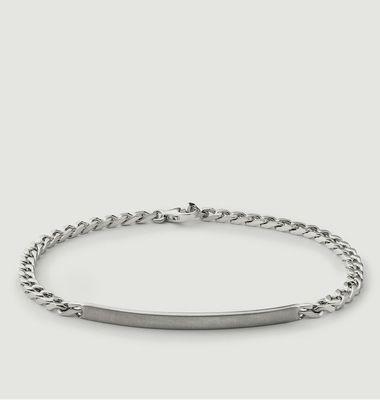 ID Chain Silver Sterling Bracelet