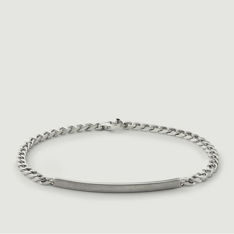 Bracelet En Argent ID Chain - Miansai