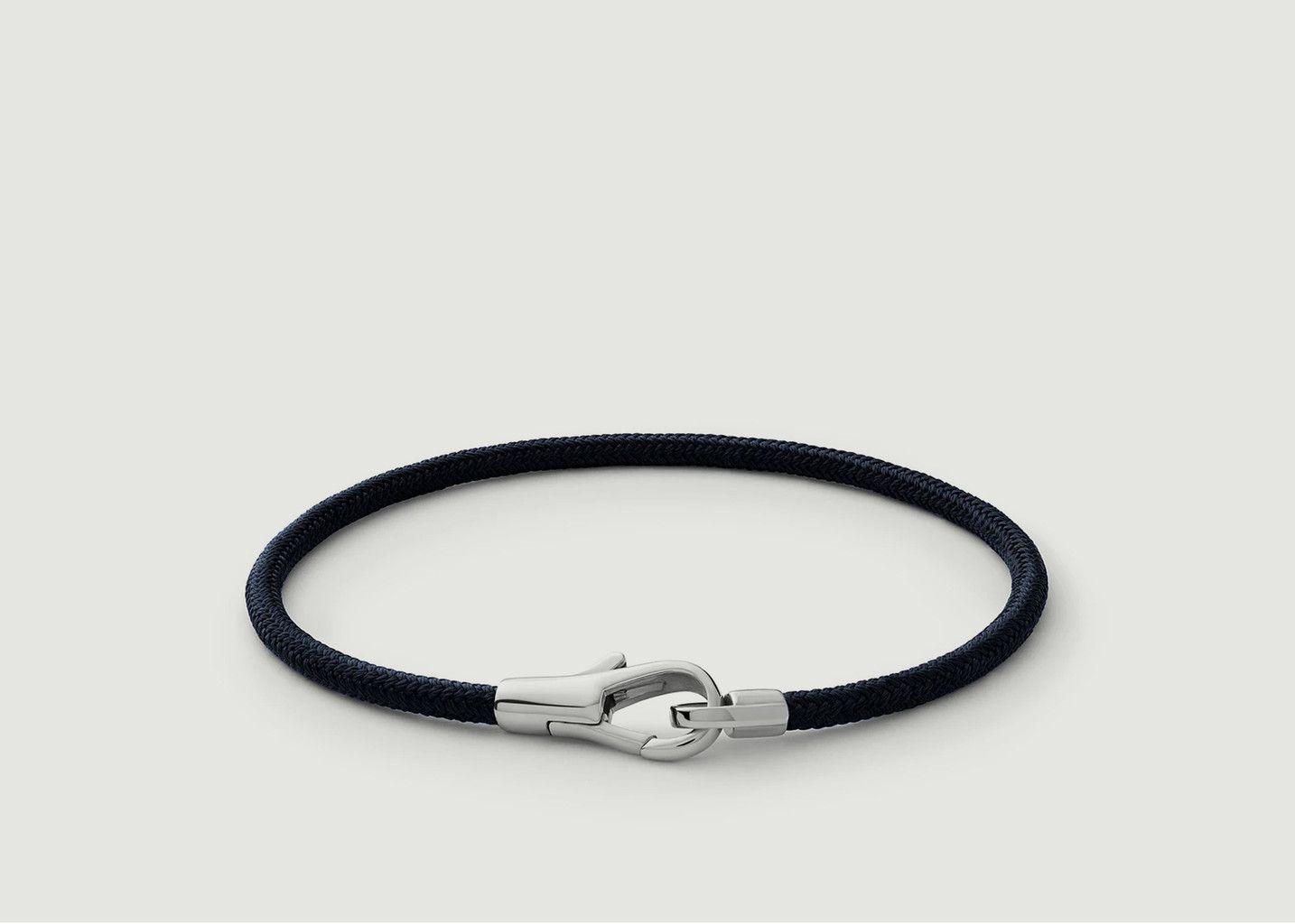 Bracelet Tissu Et Argent Knox Rope - Miansai