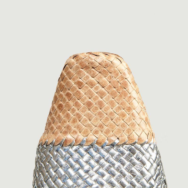 Escarpins en cuir tressé Evissa - Miista
