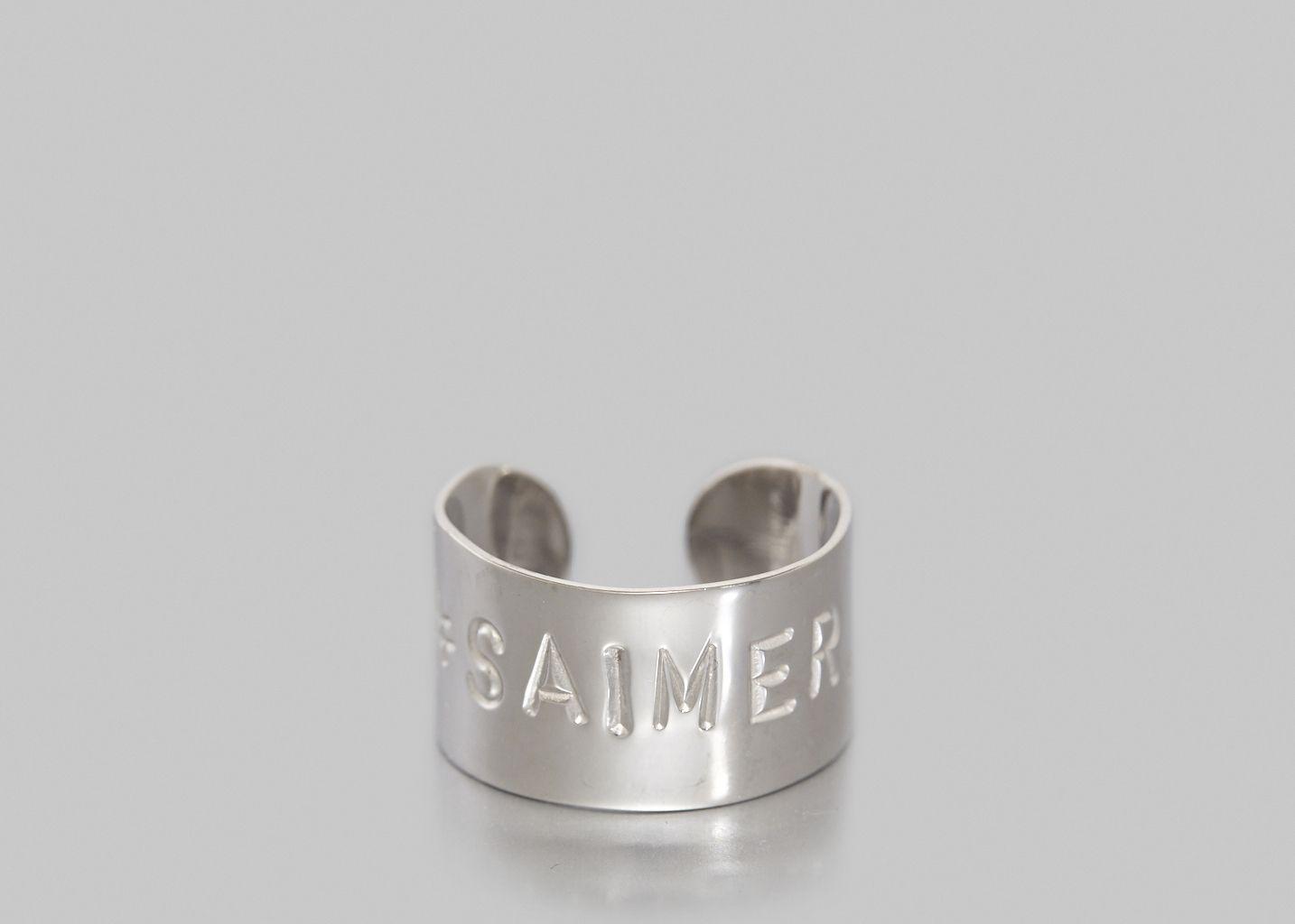 Bague #SAIMER Thin - Mimilamour