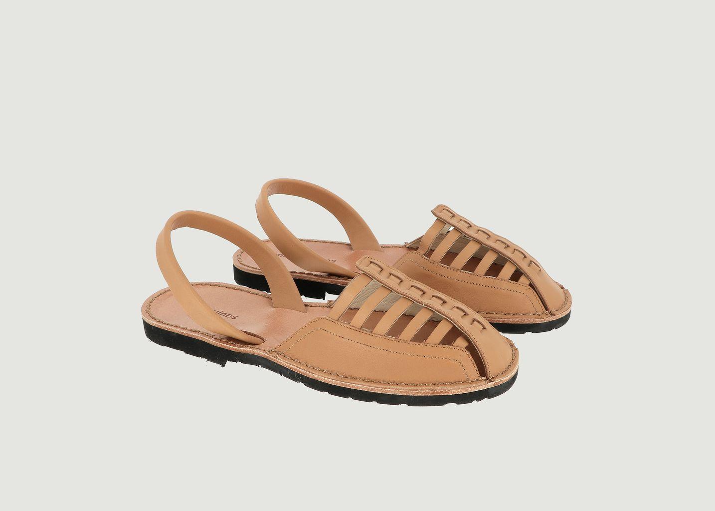 Sandales en cuir Avarca Neo 5 Santorin - Minorquines