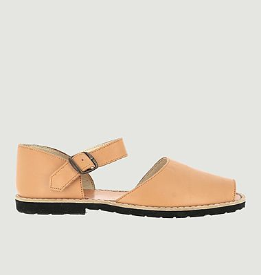 Sandales en cuir Frailera