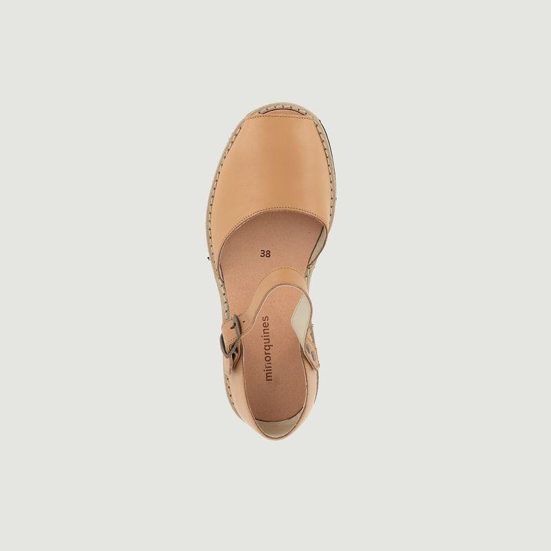 Sandales en cuir Frailera - Minorquines