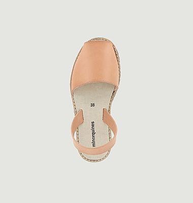 Sandales en cuir Avarca Eco