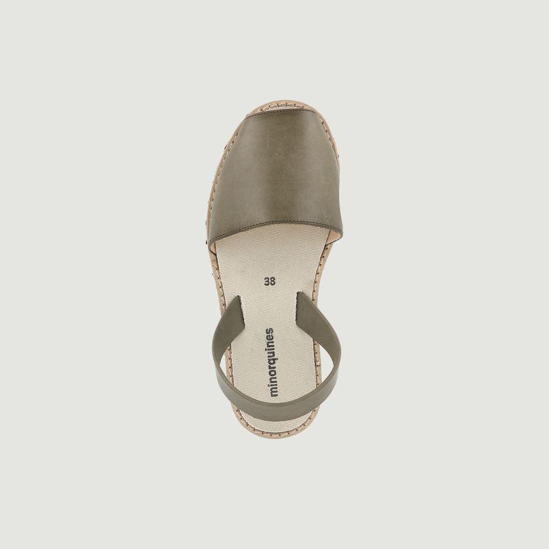 Sandales en cuir Avarca Eco - Minorquines