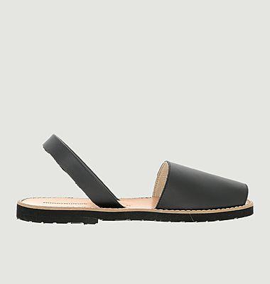 Sandales en cuir Avarca