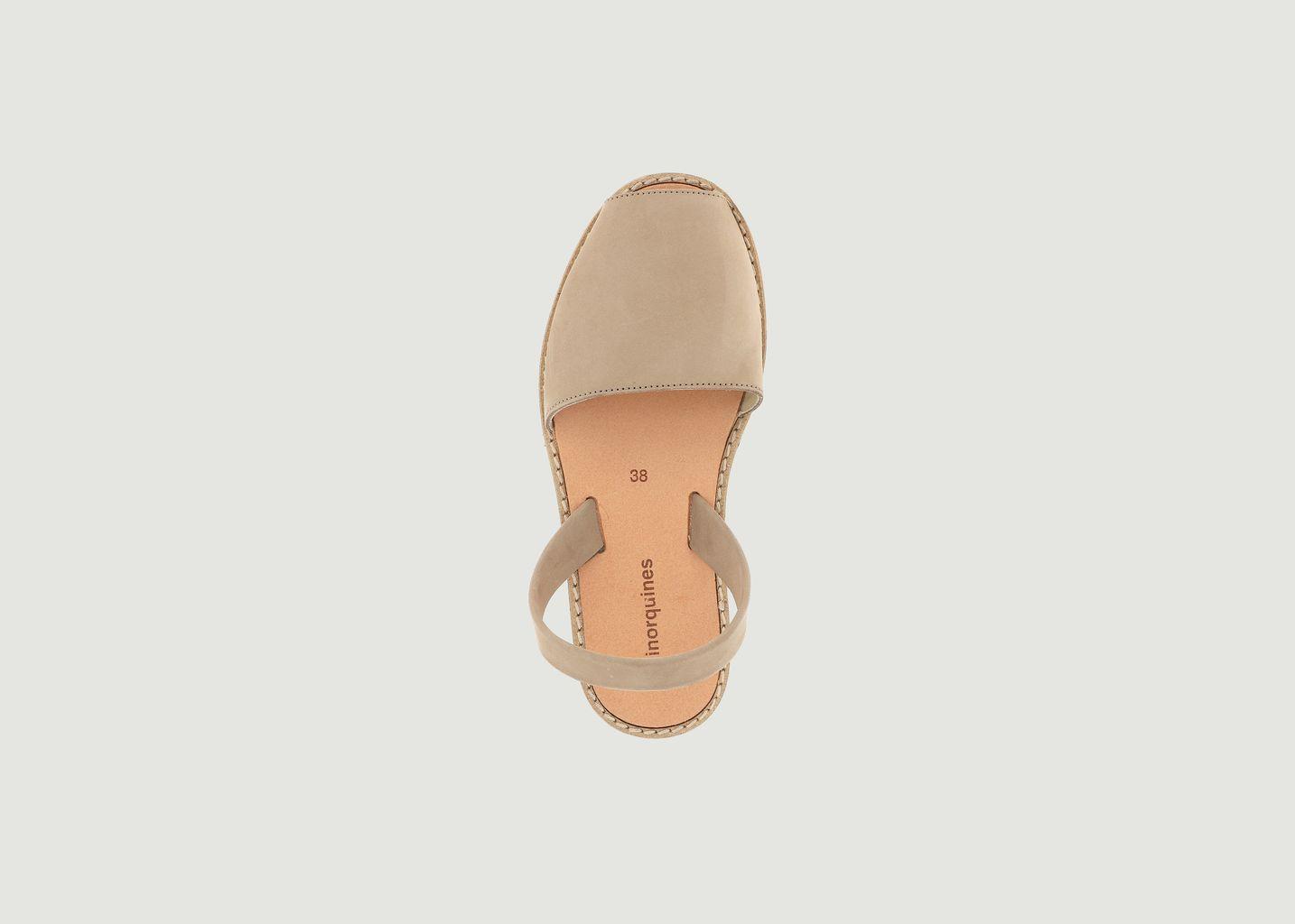 Sandales en nubuck Avarca - Minorquines