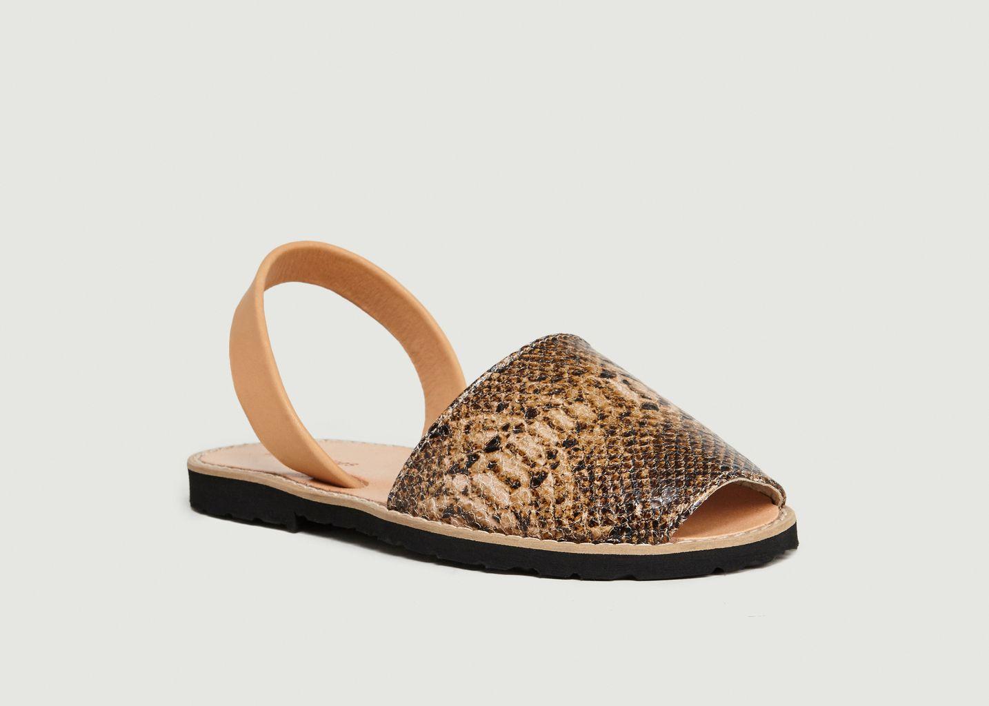 Avarca Reptile - Minorquines