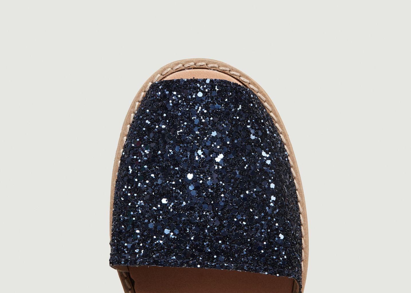 Sandales Avarca à Paillette Azul N°11 - Minorquines
