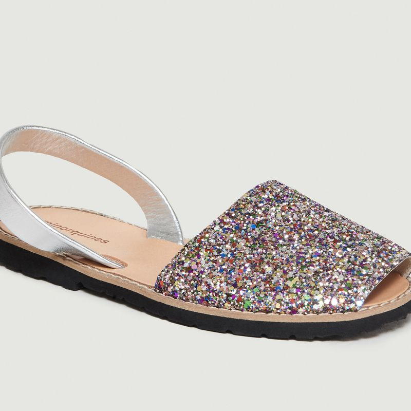 Sandales Avarca à Paillette Multicolores N°11 - Minorquines