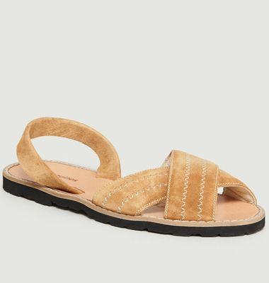 Sandales Avarca Berlin Velours