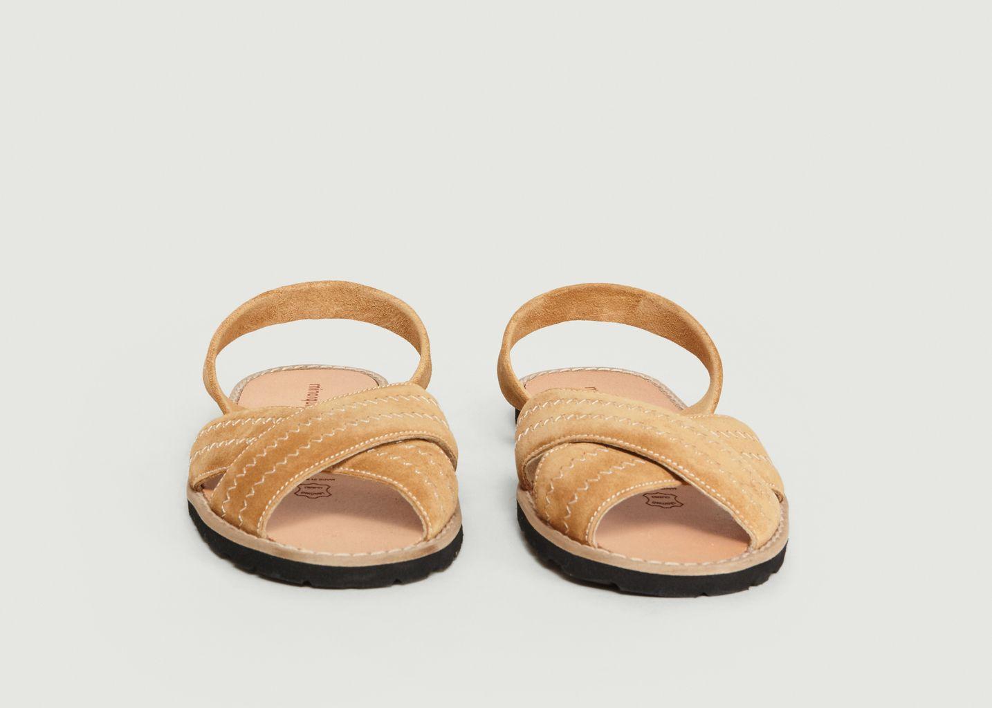 Sandales Avarca Berlin Velours - Minorquines