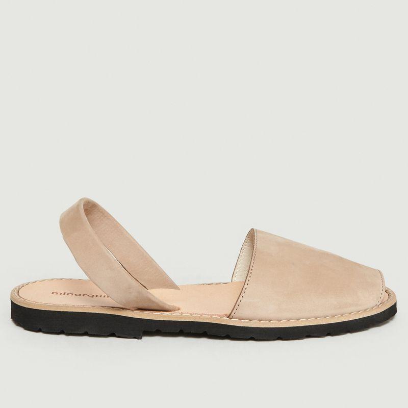 Sandales Avarca Nubuck Costa - Minorquines