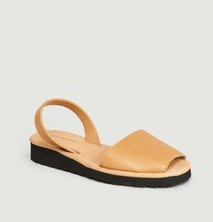 Sandales En Cuir Avarca Platja