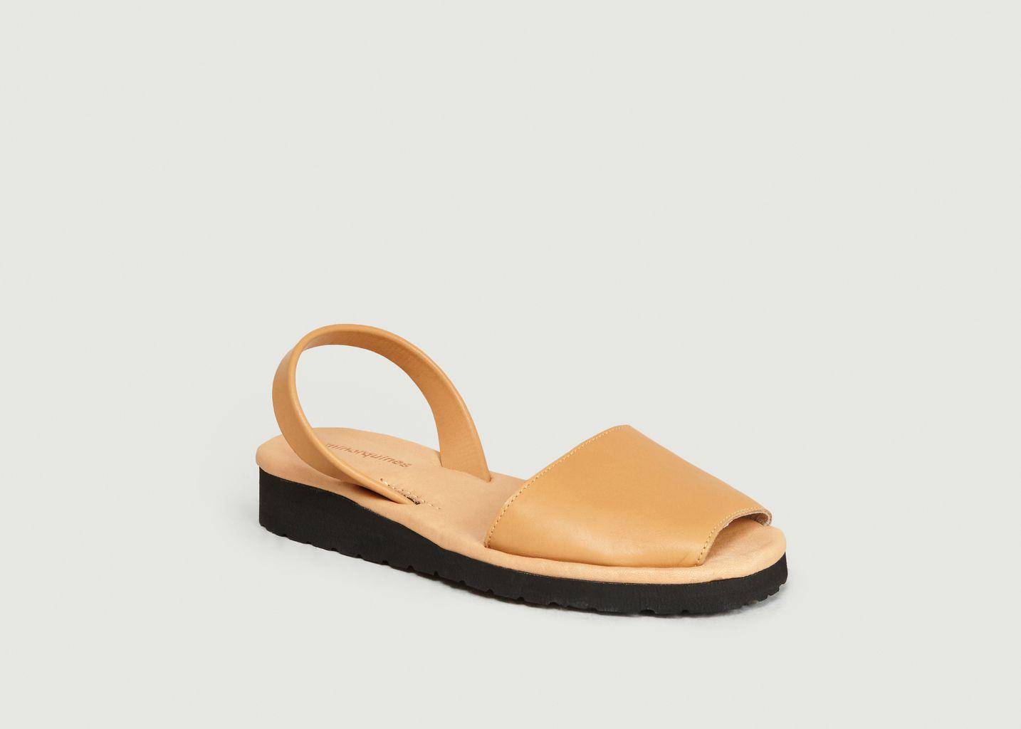Sandales en cuir Avarca Platja - Minorquines