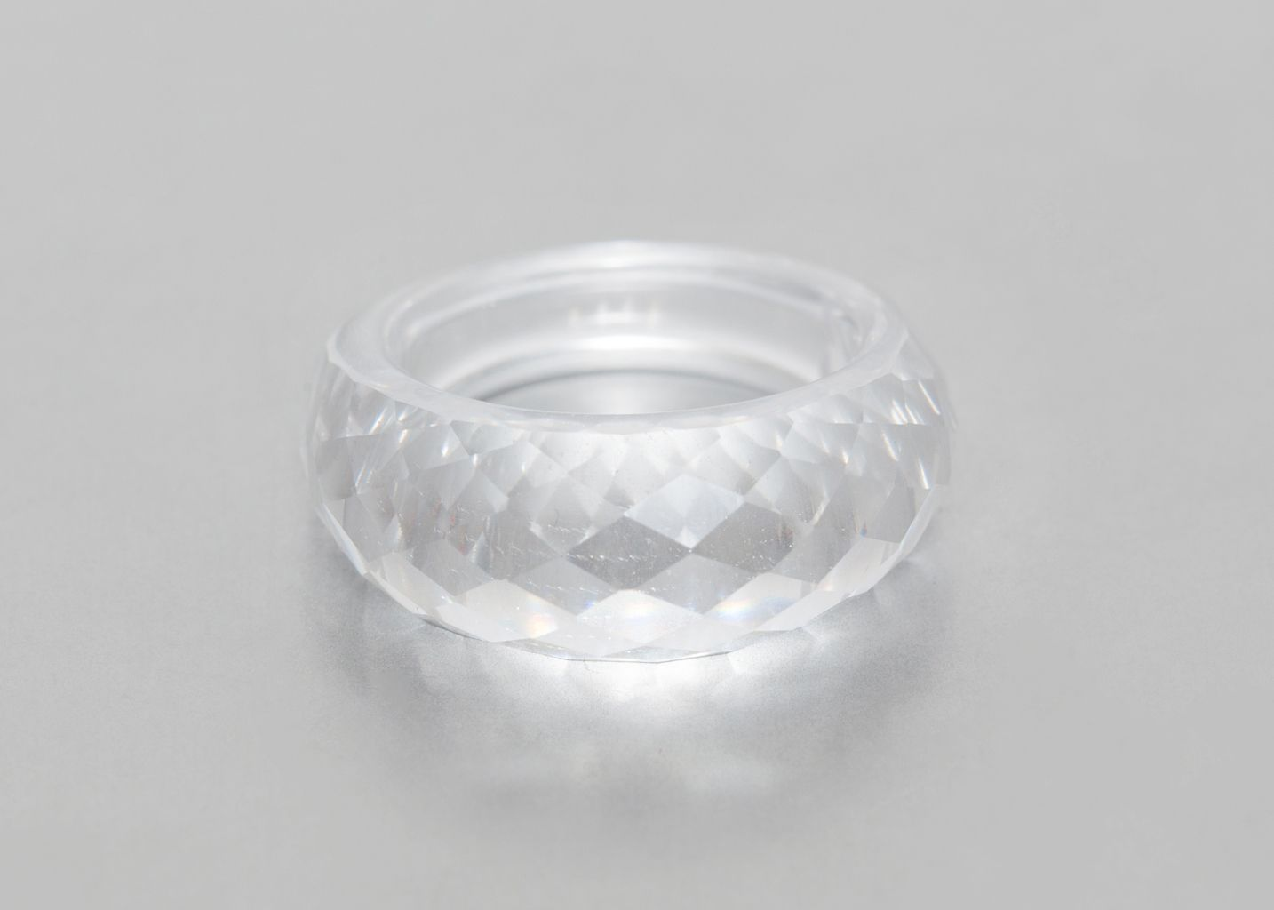 Bague Sculpture en Cristal  - Miss Bibi