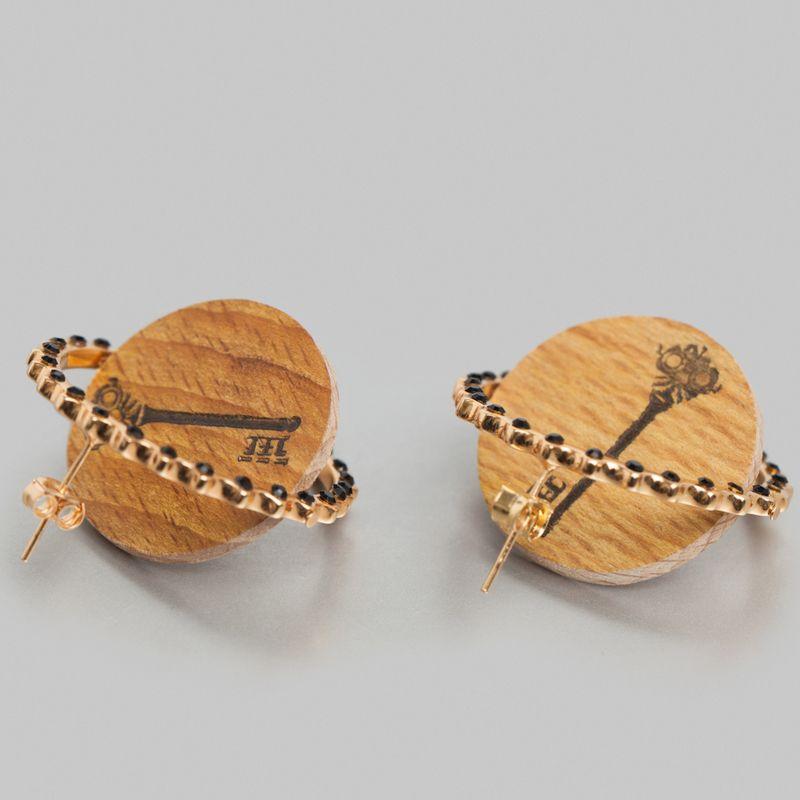 Boucles d'Oreilles Jeton - Miss Bibi