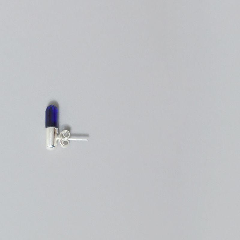 Boucles d'Oreilles Petites Pilules Damien  - Miss Bibi