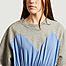 matière Bicolor midi sweatshirt dress - MM6 Maison Margiela