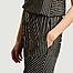 matière Pantalon Rayé - MM6 Maison Margiela