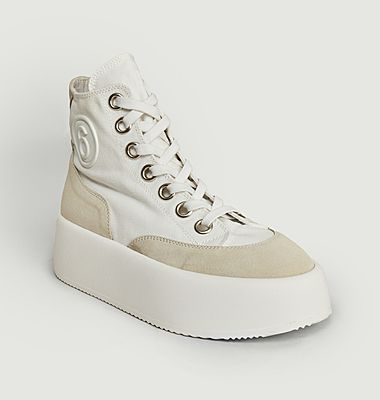 Sneakers Canvas Suede