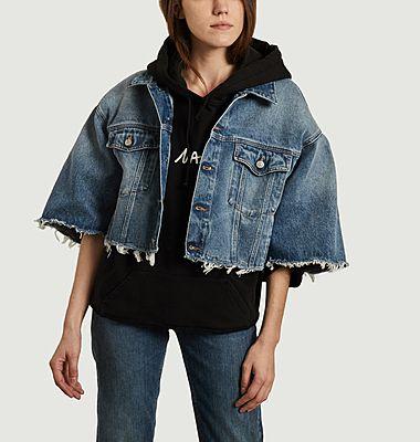Veste en jean courte