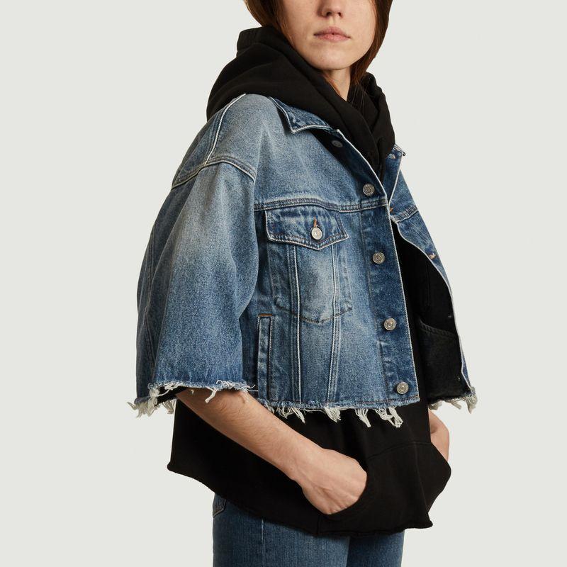 Veste en jean courte  - MM6 Maison Margiela