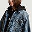 matière Veste en jean courte  - MM6 Maison Margiela