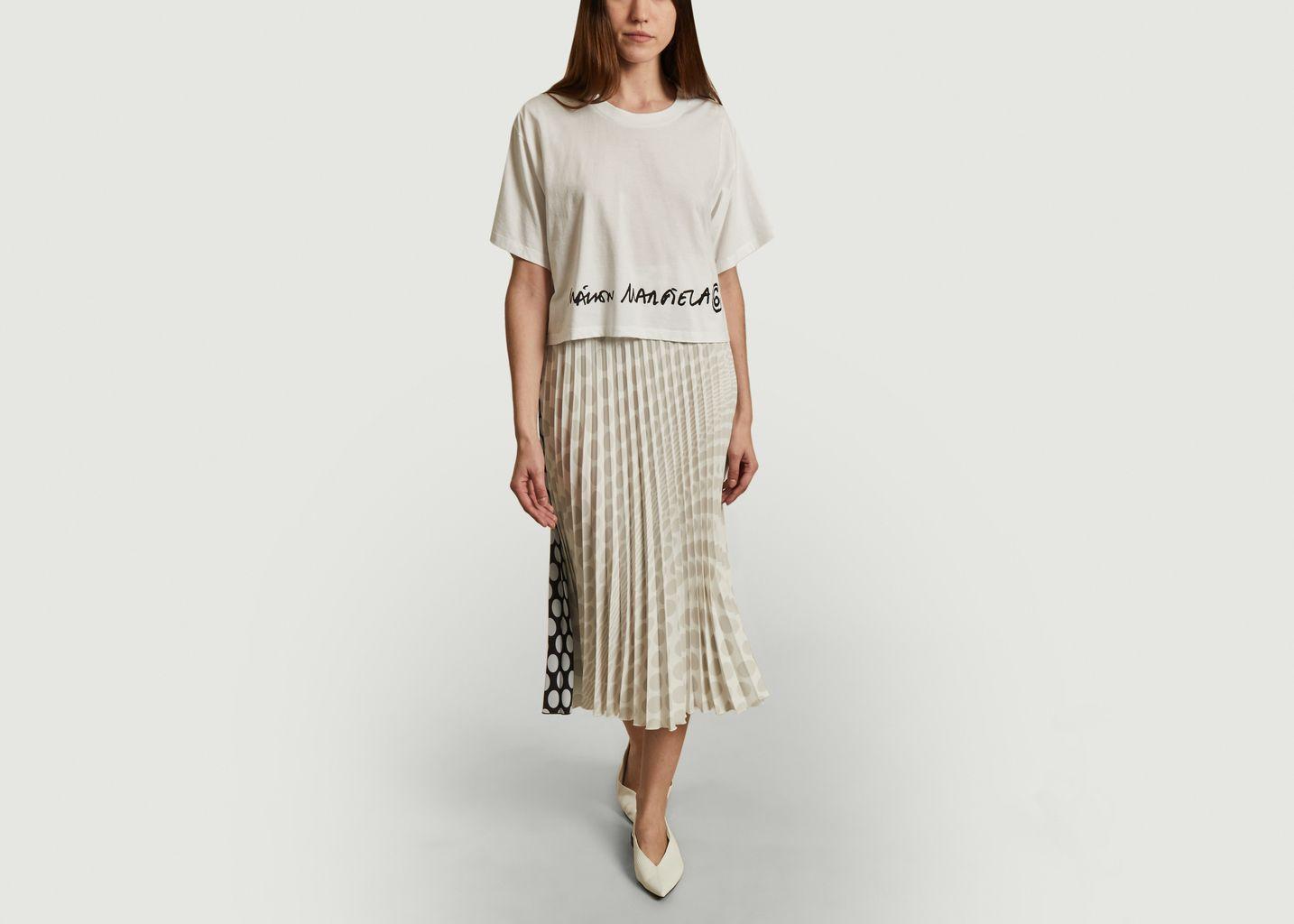 Tee-shirt court logo  - MM6 Maison Margiela