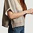 matière Sweatshirt court à manches courtes  - MM6 Maison Margiela