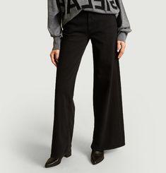 Pantalon Denim Large