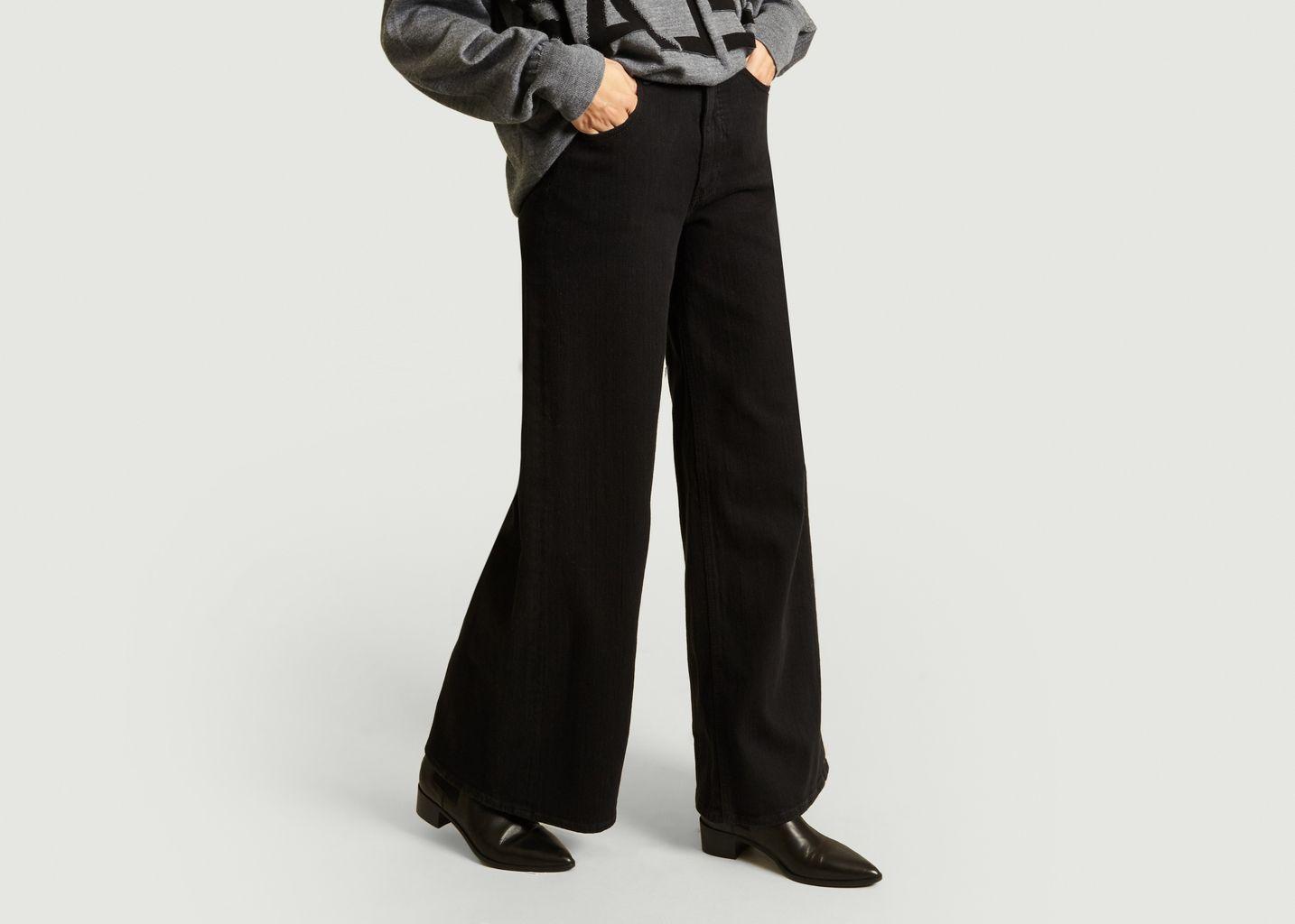 Pantalon Denim Large - MM6 Maison Margiela