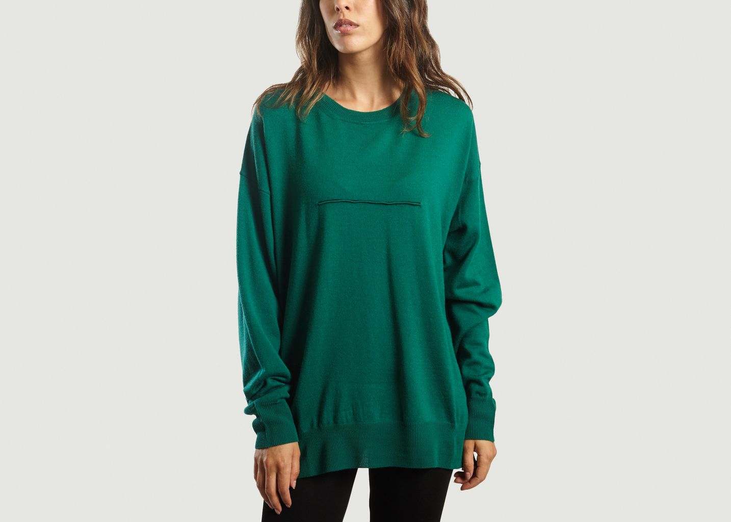 Pull Col Rond Oversized - MM6