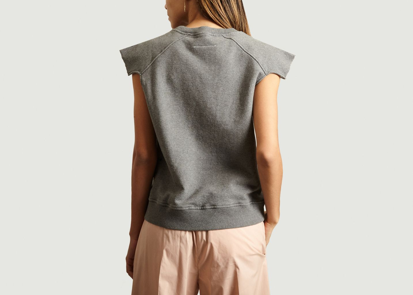 Sweat Manches Cropped - MM6