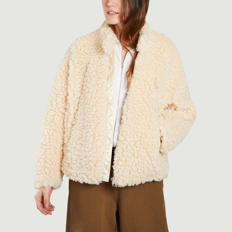 Veste en fausse peau de mouton - MM6 Maison Margiela