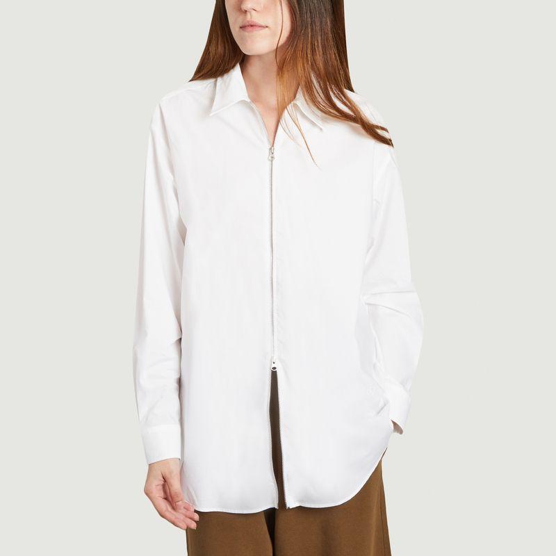 Chemise longue blanche  - MM6 Maison Margiela