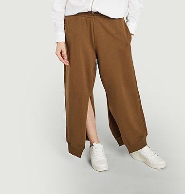 Pantalon de survêtement fendu