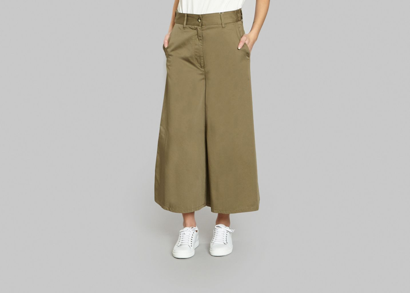Pantalon Jupe Culotte - MM6