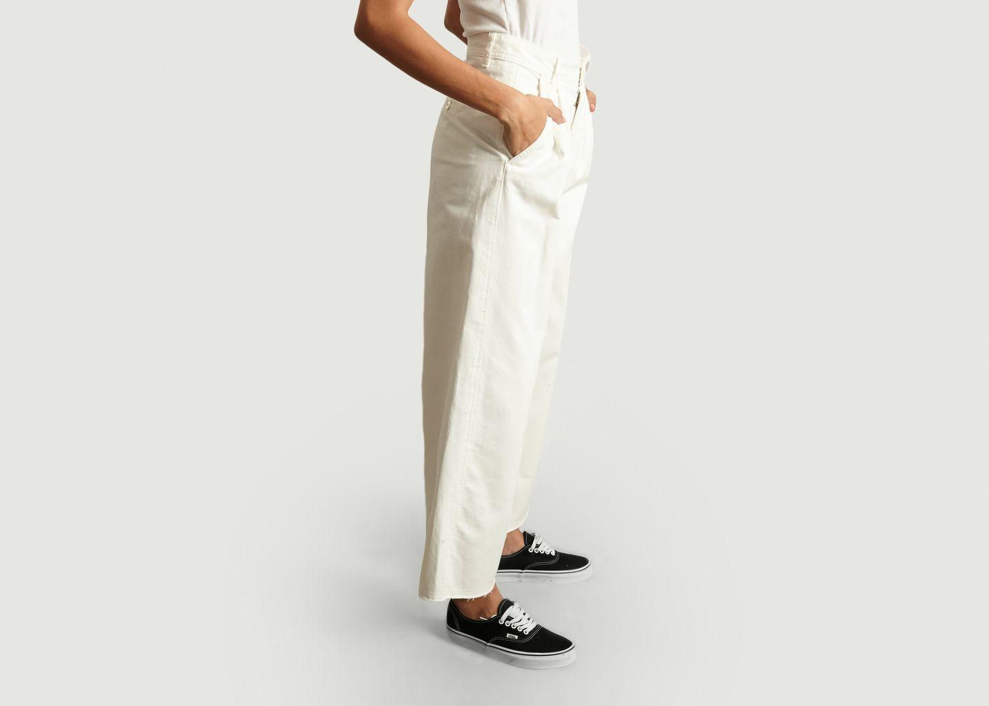Pantalon Palazzo en Coton - MM6