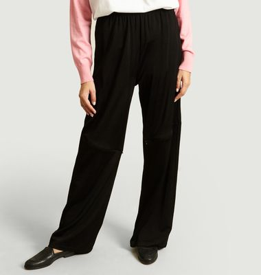 Zip Panelled Trousers