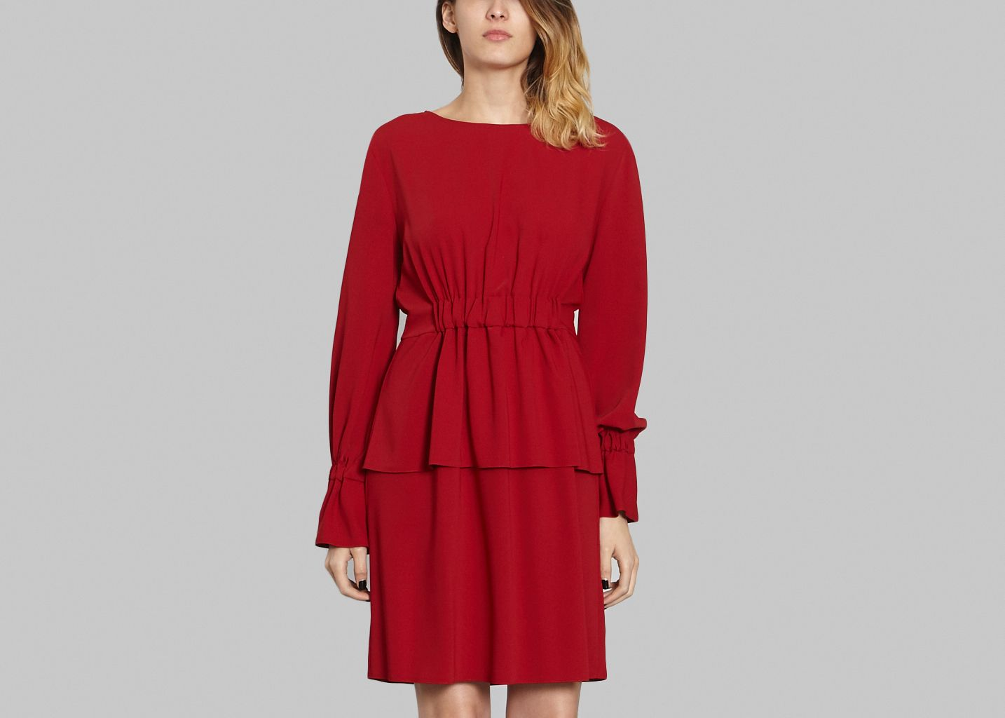 Ruched Dress - MM6