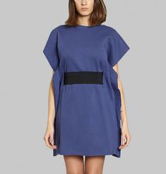 Elastic Belted Tunic