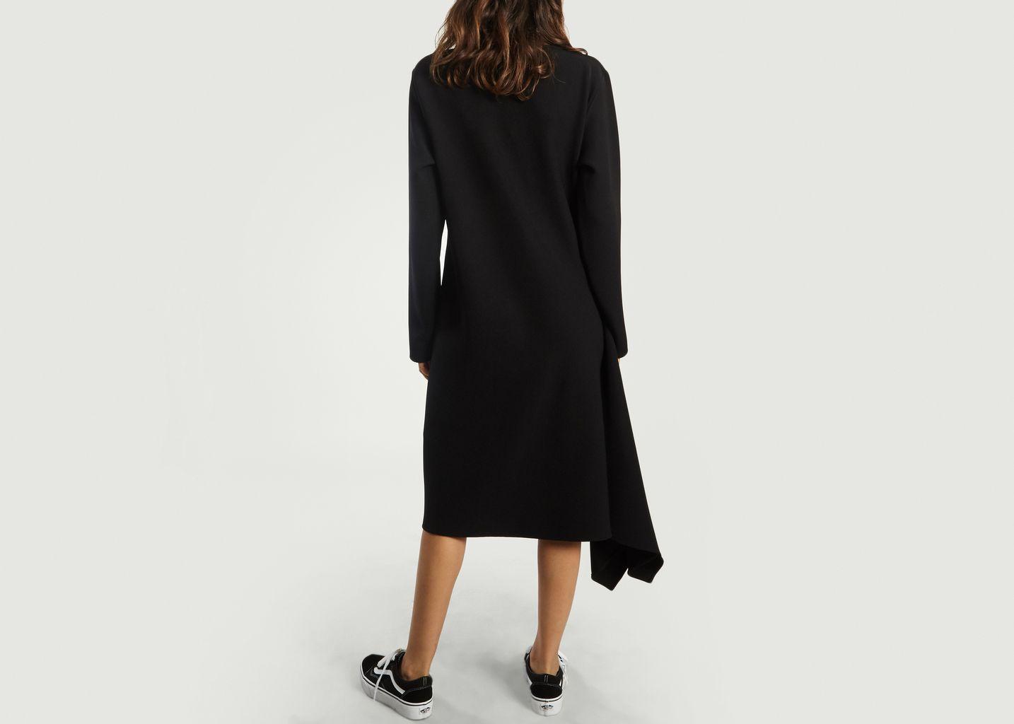 Robe Asymétrique Manches Longues - MM6