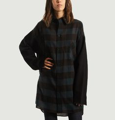Oversized Chequered Shirt