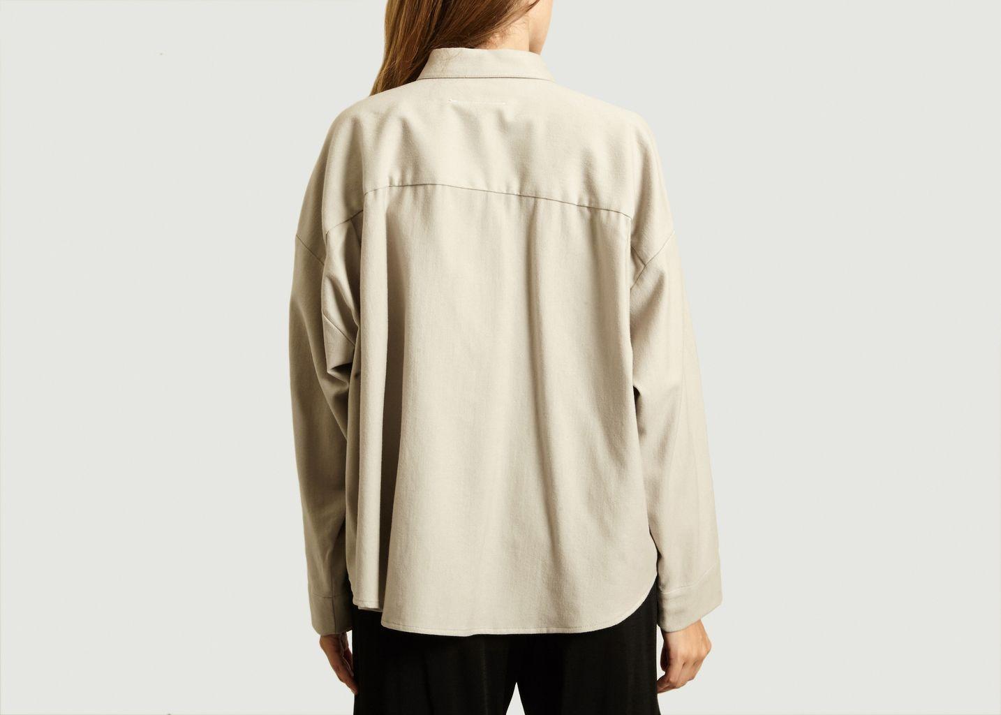 Chemise Boutonnée Courte - MM6