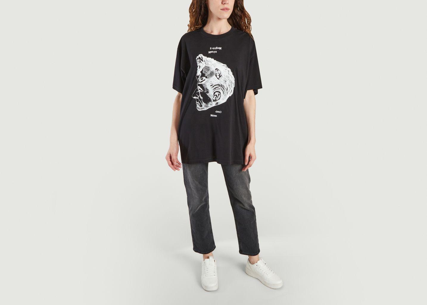 T-shirt visage - MM6 Maison Margiela