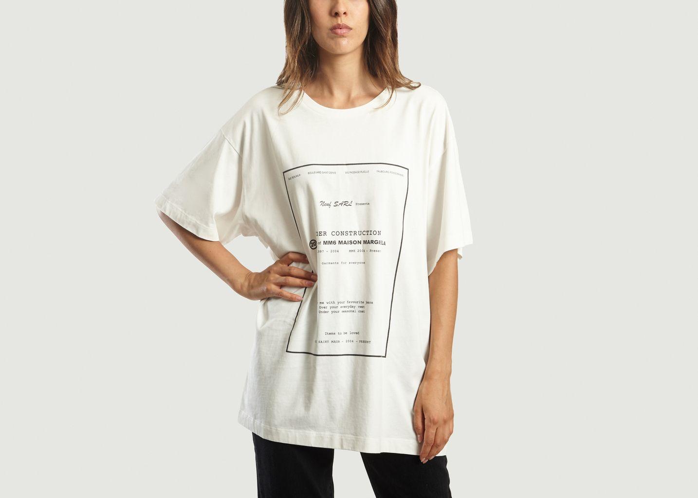 T-shirt Under Construction - MM6